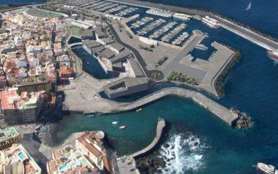 Construcción de un puerto en Puerto de la Cruz