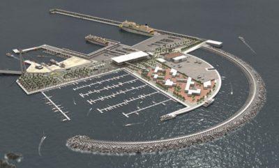 Construcción de un puerto en Guía de Isora