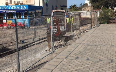 Puertos Canarios mejora el saneamiento del Puerto de Gran Tarajal