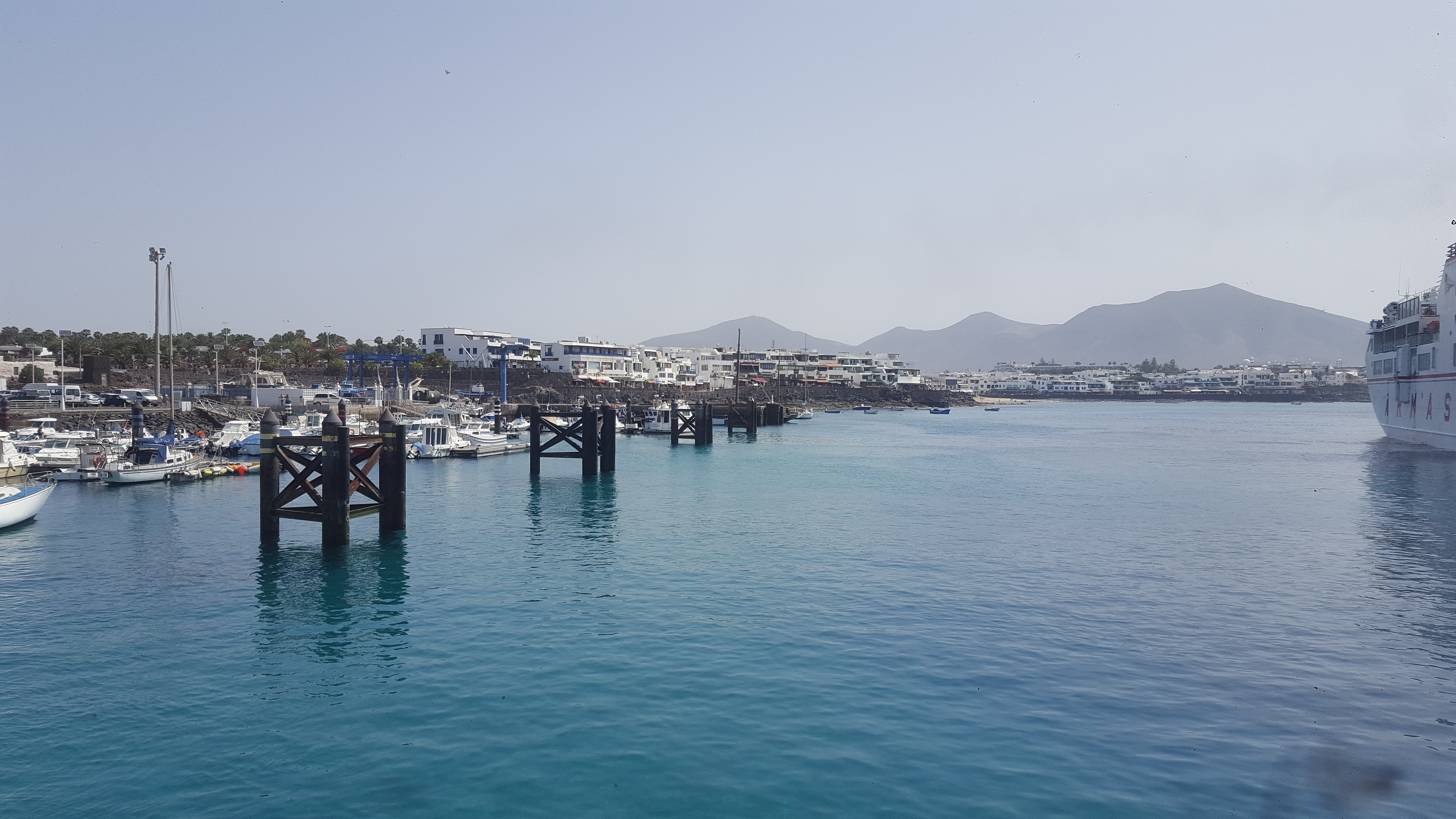 Port of Playa Blanca
