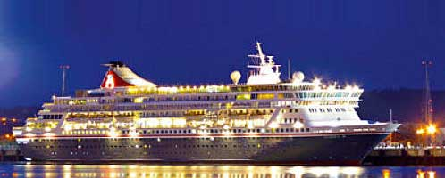 The Balmoral will dock in Gran Tarajal with 1.200 passengers on board