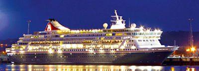 El Balmoral atracará en Gran Tarajal con 1.200 pasajeros a bordo