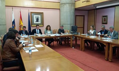 Approved the four-year investment for the ports of Santa Cruz de Tenerife