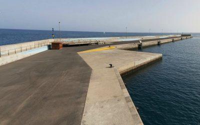 El temporal obliga a cancelar la escala del crucero Balmoral en Gran Tarajal