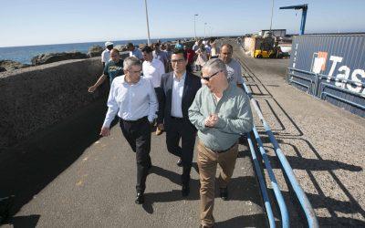 Puertos Canarios iniciará este verano obras de mejora en la instalación portuaria de Castillo de Romeral