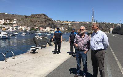 El Gobierno de Canarias perfila un paquete de medidas para los puertos de La Gomera