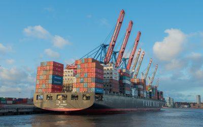 Puertos Canarios se consolida como plataforma de tránsito de mercancías en el primer trimestre de 2017