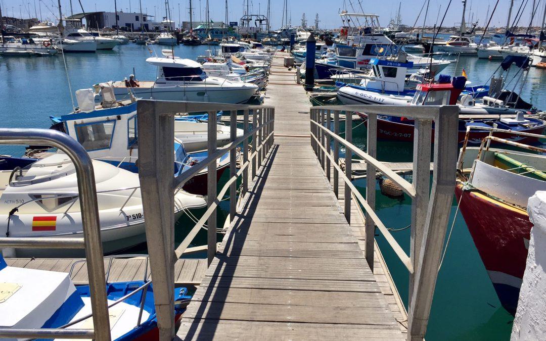Puertos Canarios ya dispone del informe de viabilidad financiera para la ampliación del puerto de Corralejo
