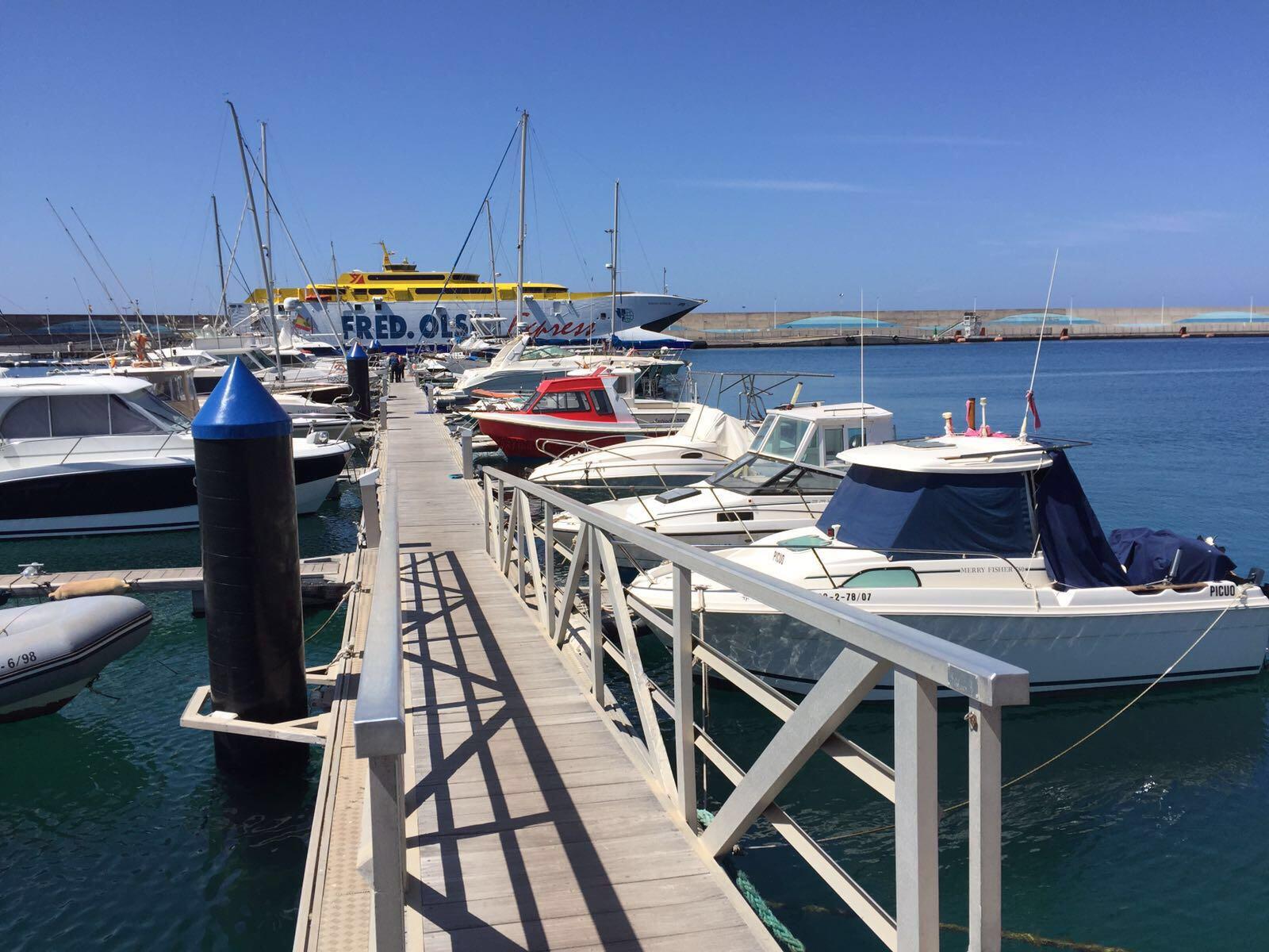 Puertos canarios coordina con las navieras la for Oficina virtual gobierno de canarias