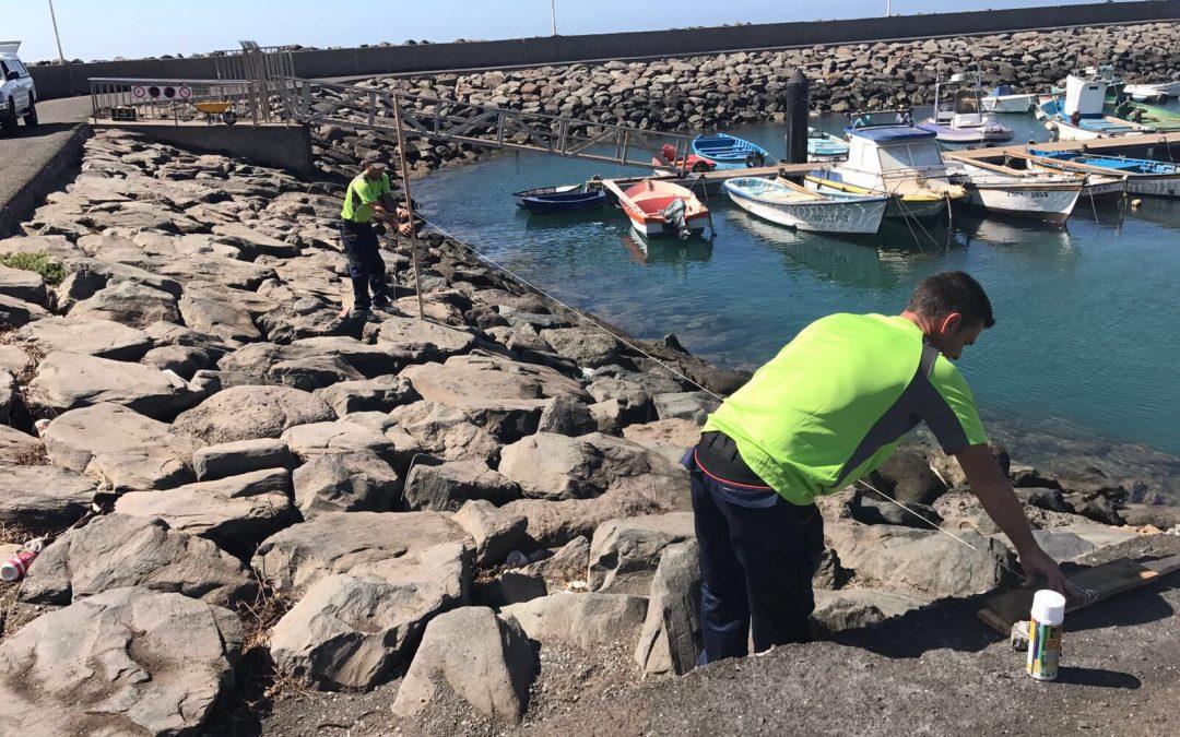 Puertos Canarios inicia hoy las obras de mejora de la instalación portuaria de Castillo del Romeral