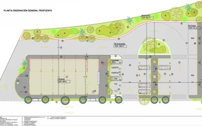 Puertos Canarios inicia la obra de urbanización de la terminal de pasajeros del puerto de Vueltas