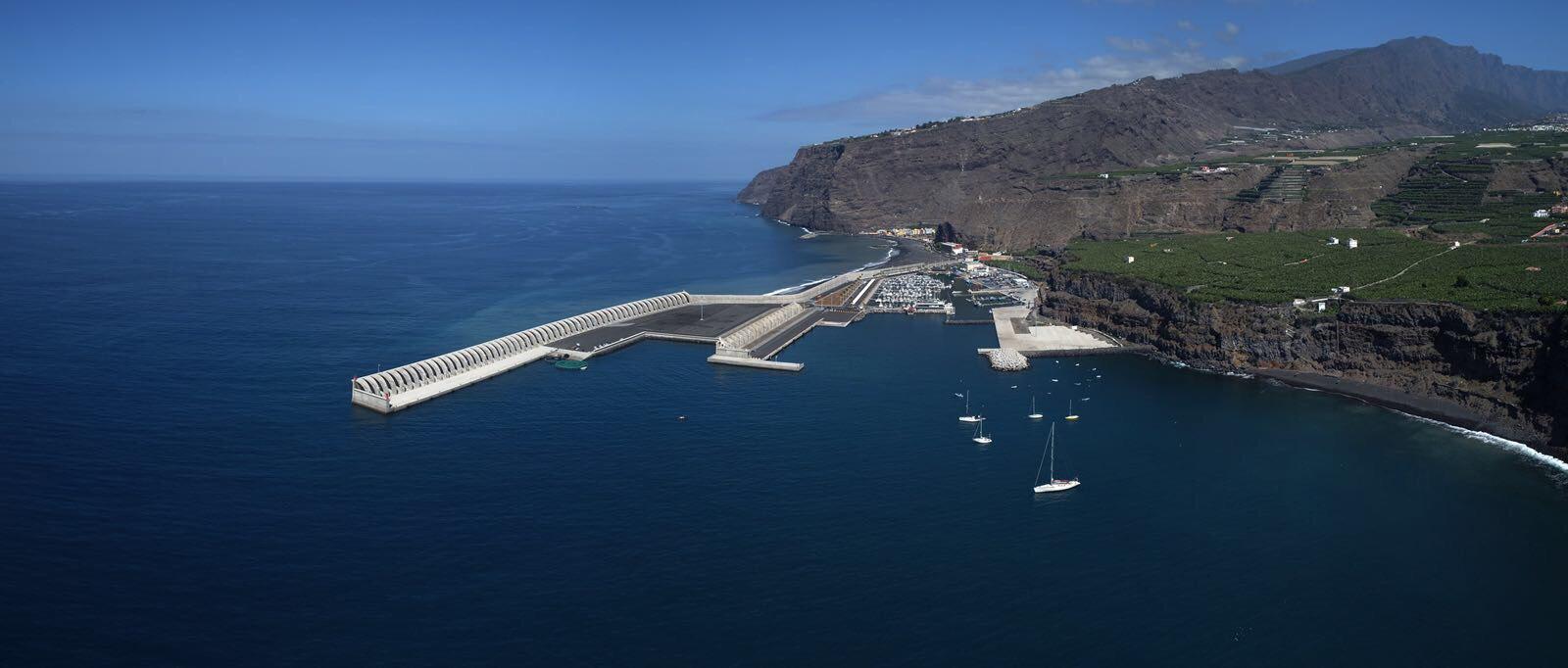 On n cruz anuncia que el puerto de tazacorte se iniciar for Oficina virtual gobierno de canarias