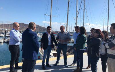 El Gobierno de Canarias invertirá en la terminal de pasajeros del puerto de Gran Tarajal de cara a la llegada de los nuevos cruceros