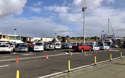 Puertos Canarios ejecuta obras de señalización en el puerto de Playa Blanca por valor de cerca de 32.000 euros
