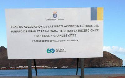 El puerto de Gran Tarajal recibe dos nuevas solicitudes de escalas de cruceros para 2019