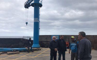 Puertos Canarios impulsa la ejecución de obras en los refugios de El Pris y El Roquete para mejorar la actividad del sector pesquero