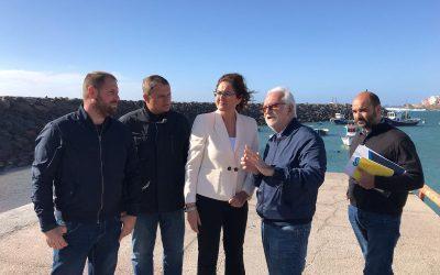 Puertos Canarios invertirá en 2018 cerca de 400.000 euros en el acondicionamiento del refugio pesquero de Tajao