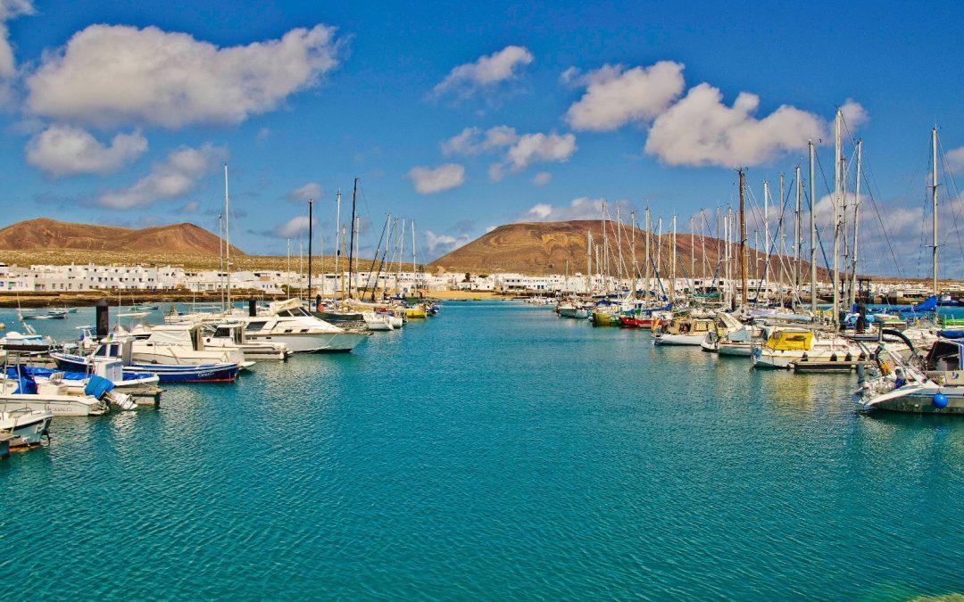 Puertos Canarios inicia las obras de instalación eléctrica de baja tensión y alumbrado público en el puerto de Caleta de Sebo