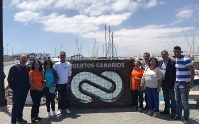 Puertos Canarios pone en marcha la campaña de recogida de tapones 'Puertos solidarios'