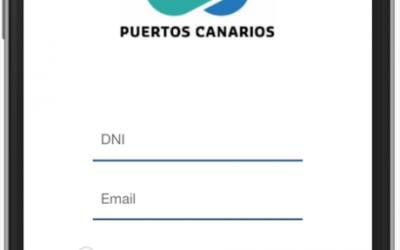 Puertos Canarios pone en marcha una App para gestionar la solicitud de servicios portuarios