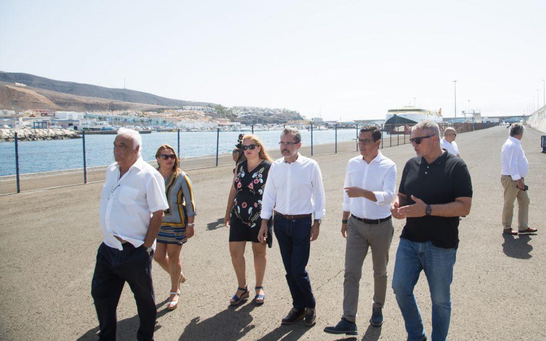 Puertos Canarios invertirá más de 2 millones de euros en los puertos autonómicos de la isla de Fuerteventura en 2018