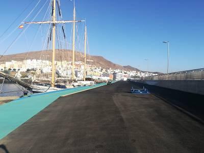 Gran Tarajal recibe hoy la escala del buque escuela Alva