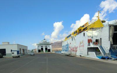 Se inician las obras del Puerto de Morro Jable