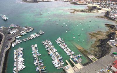 Ampliación de atraques en el Puerto de Corralejo