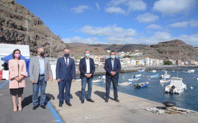 Ampliación y mejora del puerto de Playa Santiago