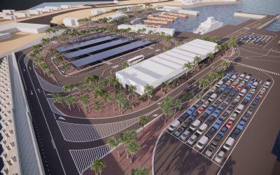 Sostenible y ecoeficiente: así es la nueva estación marítima del puerto de Playa Blanca